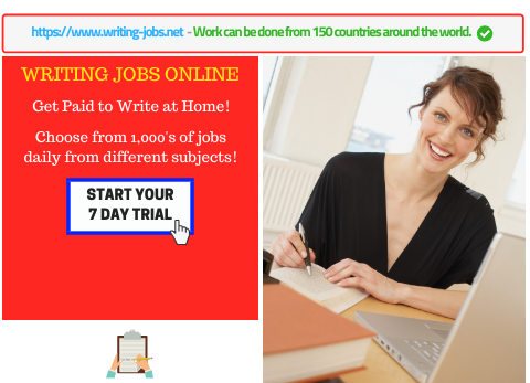 writing jobs work at home