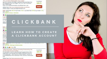 Learn how to create a clickbank account