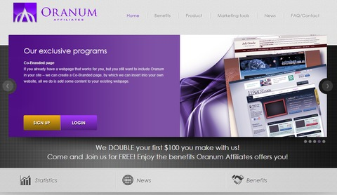 Oranum partner website