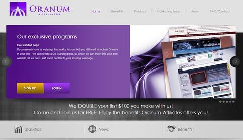 Oranum partner website