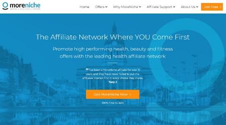 moreniche affiliate network for bloggers