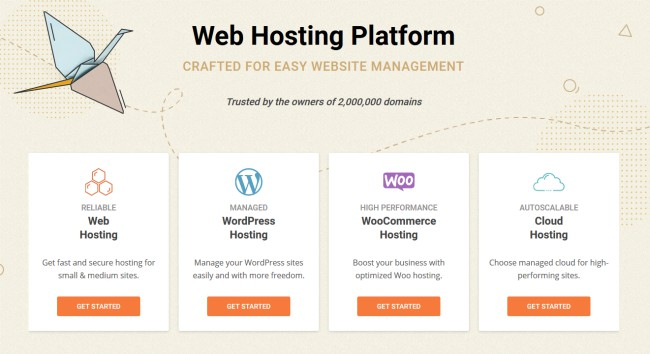 Siteground hosting website