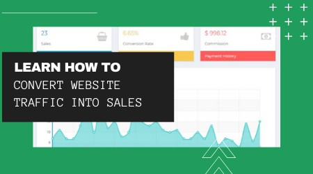learn how to convert website traffic into sales