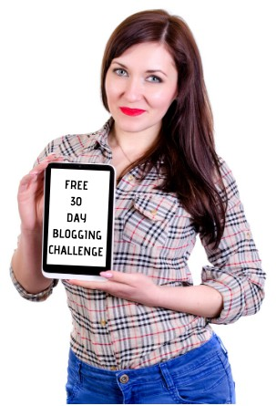 free 30 day blogging challenge