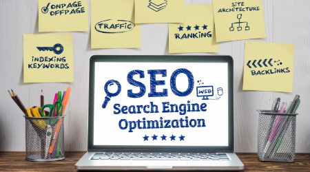 seo - search engine optimization - on site and off site