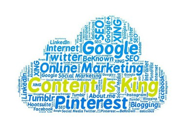 Content is king - content marketing