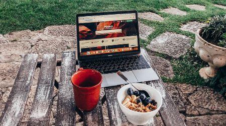 start with blogging