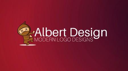 Albert design - modern logo designs